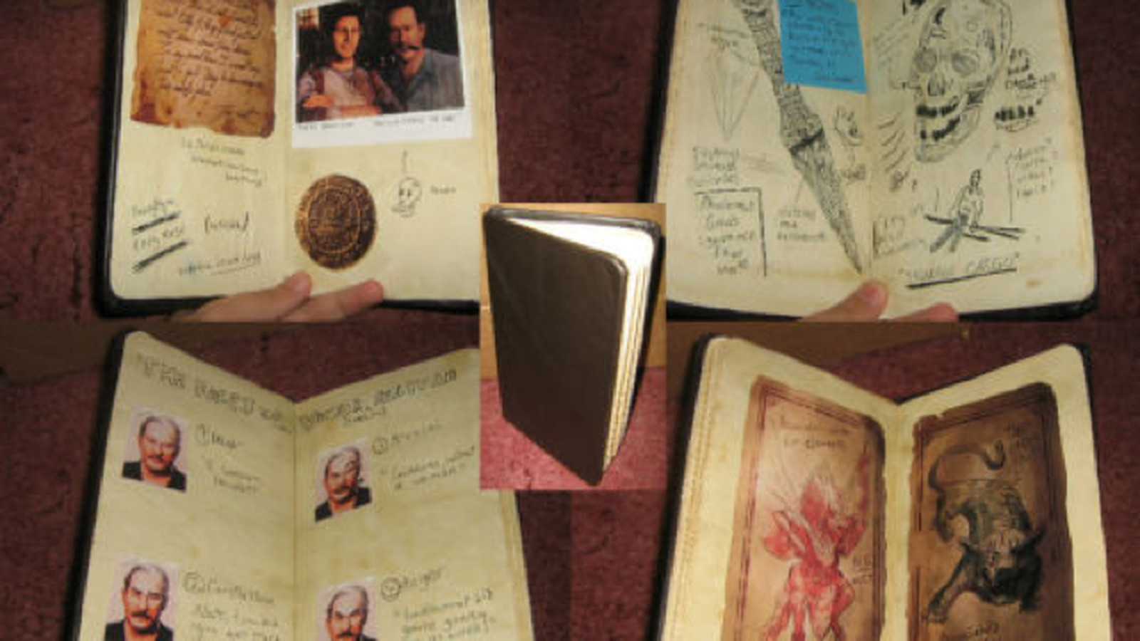 Nathan Drake S Uncharted 2 Notebook Brought To Life The Verge