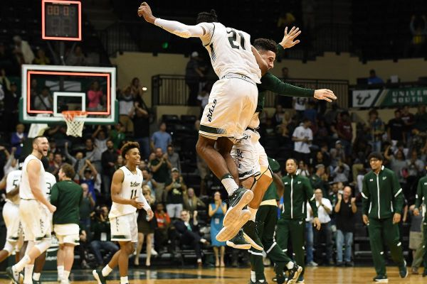 USF Men's Basketball SQUEAKS Past Stetson, 75-72 - The ...