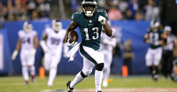 Nelson Agholor's $9.4 million salary with the Eagles in ...