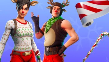 Fortnite Christmas Tree Locations Dance Under Christmas Trees In 14