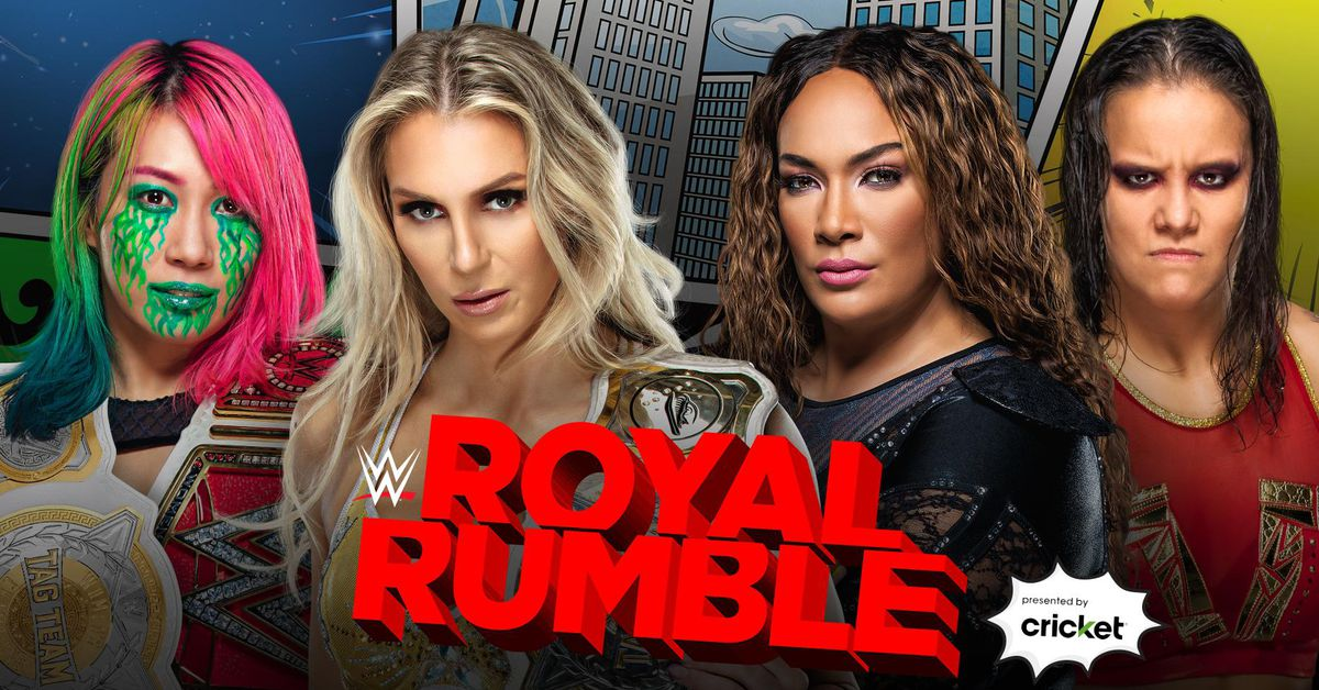 Women's tag team title match official for Royal Rumble