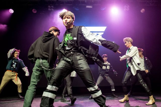 Ateez Performs At The O2 Kentish Town