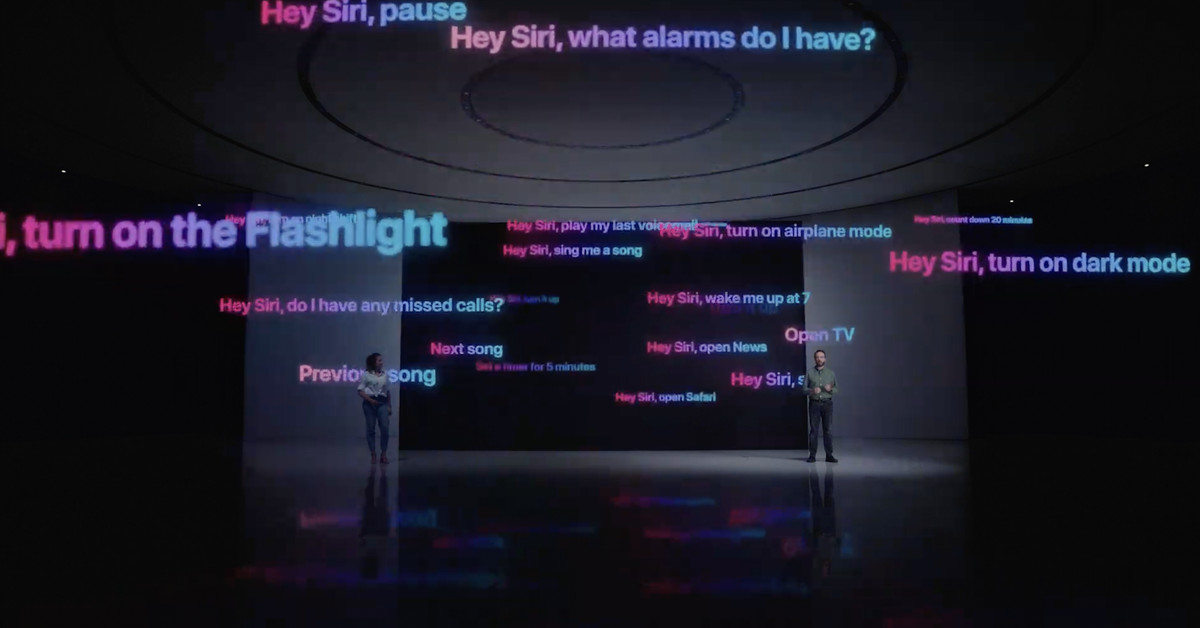Watch Apple's Siri blaze through requests with on-device processing