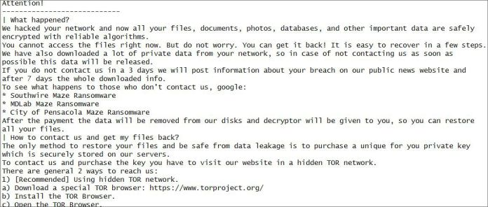 Canon additionally falls sufferer to an obvious ransomware assault
