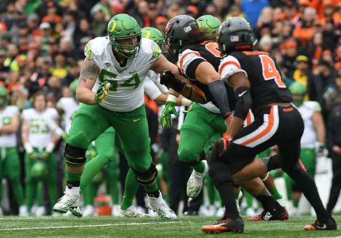NCAA FOOTBALL: NOV 26 Oregon at Oregon State