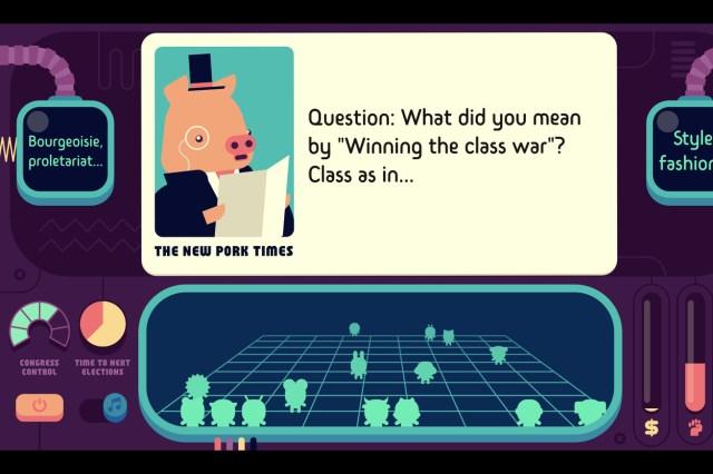 Democratic Socialism Simulator screenshot