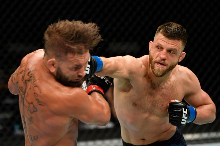 Calvin Kattar teaches Jeremy Stephens a lesson or two in weight cutting | Gamrot vs Stephens