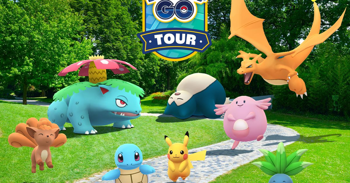 Pokémon Go's next paid event is a virtual tour of Kanto