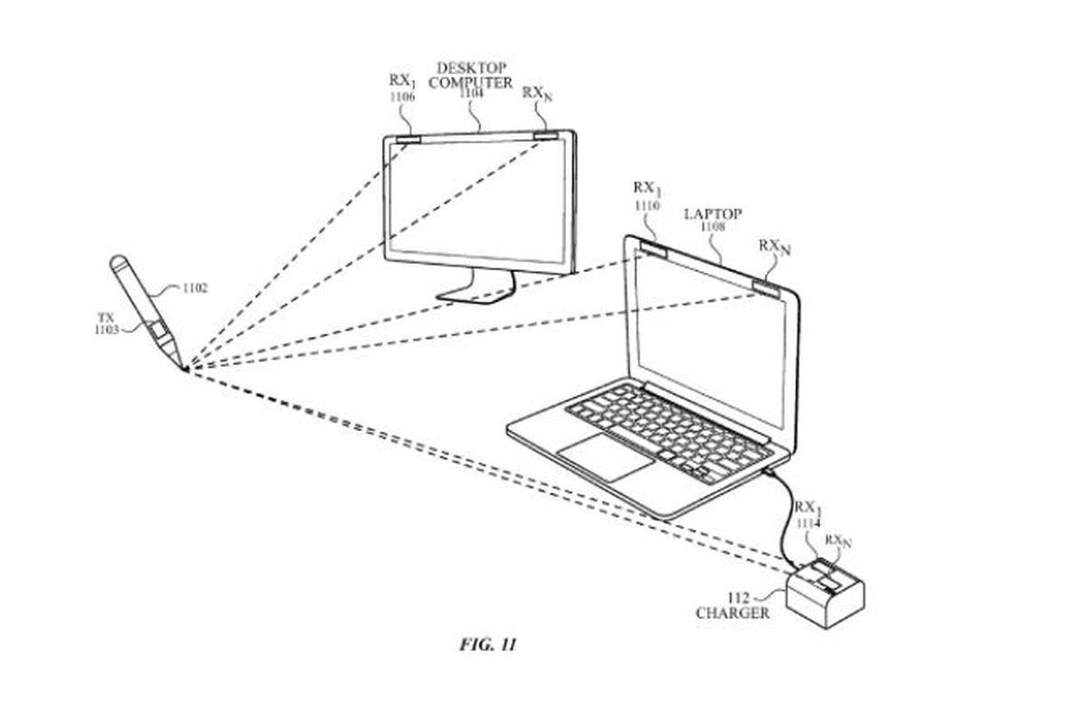 This Apple Patent Shows A Stylus That Can Draw On Any