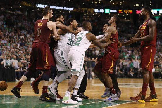 Image result for marcus smart fighting