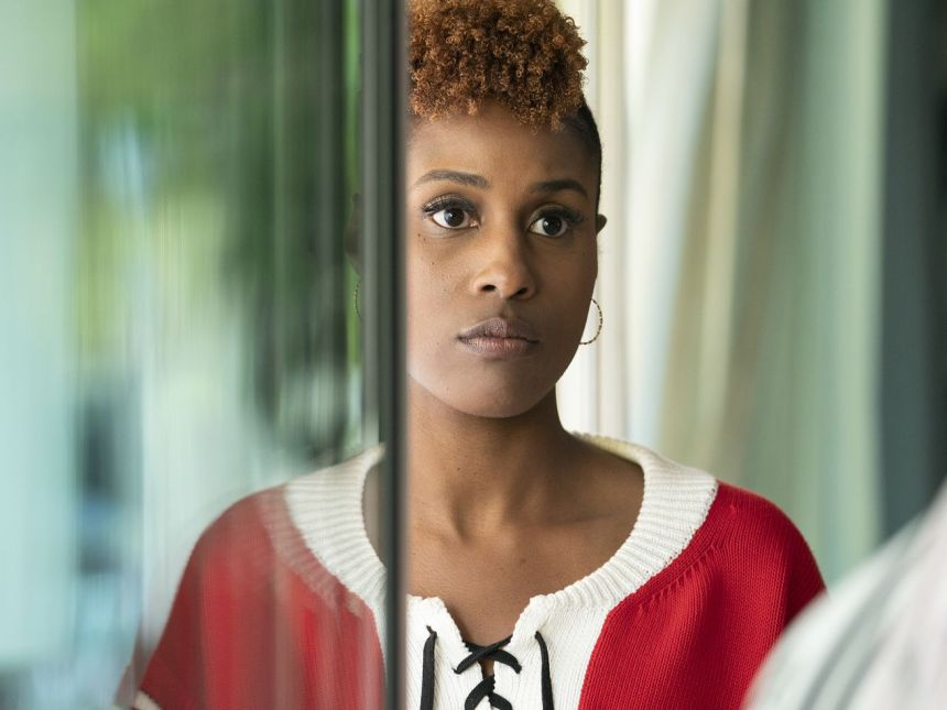 Issa sees a familiar face at the end of the latest Insecure.