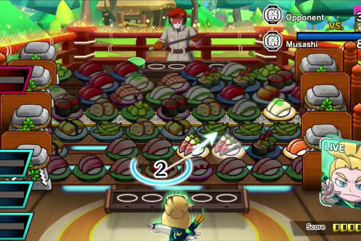 Sushi Striker The Way Of Sushido Heading To The Switch In