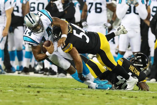 Panthers vs Steelers Final Score: Second team defense ...