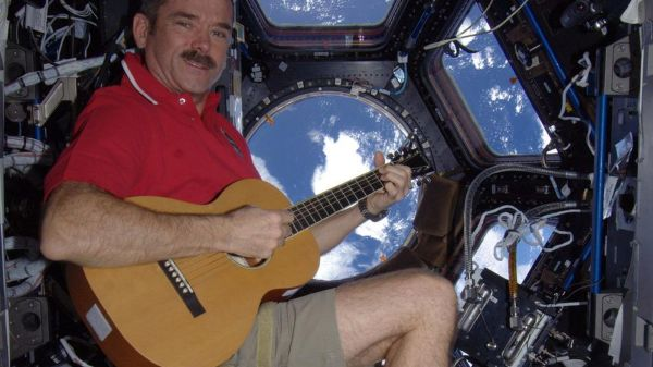 Astronaut Chris Hadfield records first song in space ...