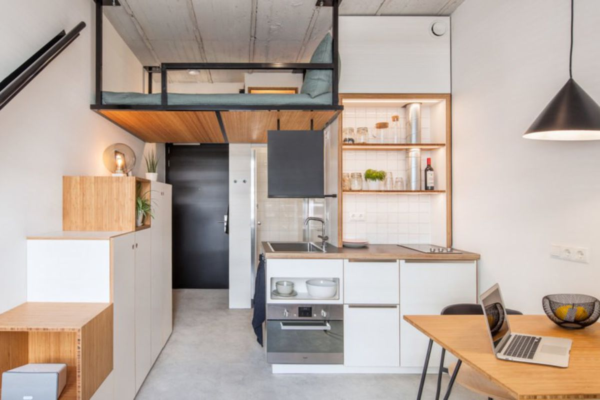 Tiny House-inspired Student Housing Is Small Living At Its