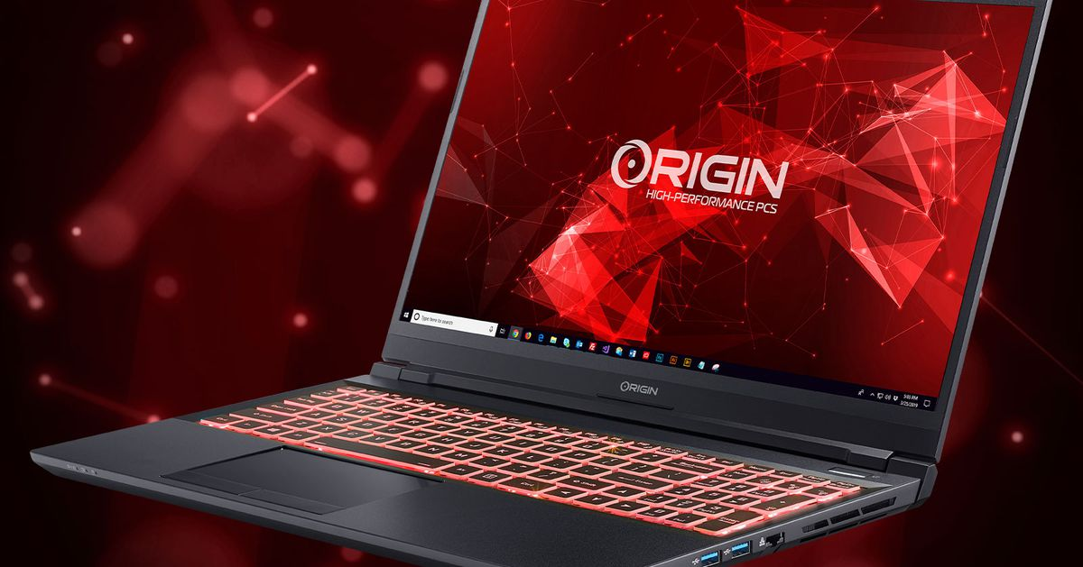 Origin updates EVO15-S and EVO17-S with new RTX 3000 series GPUs