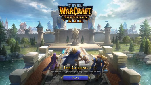 Warcraft 3: Reforged — the Culling mission preview
