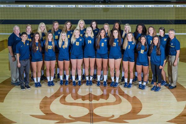 Golden Medals: Cal Volleyball ends season with a Big Spike ...