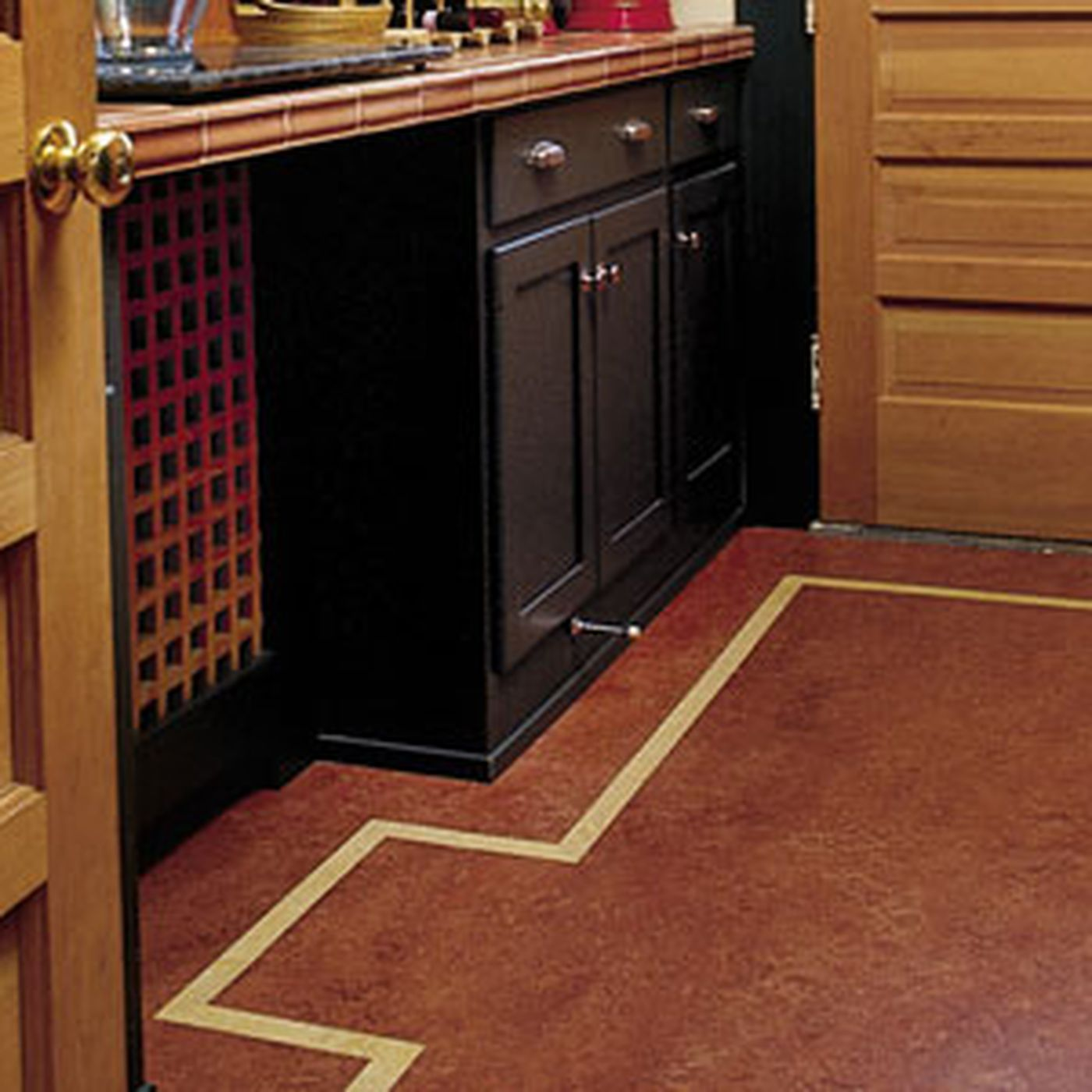 working with linoleum flooring this