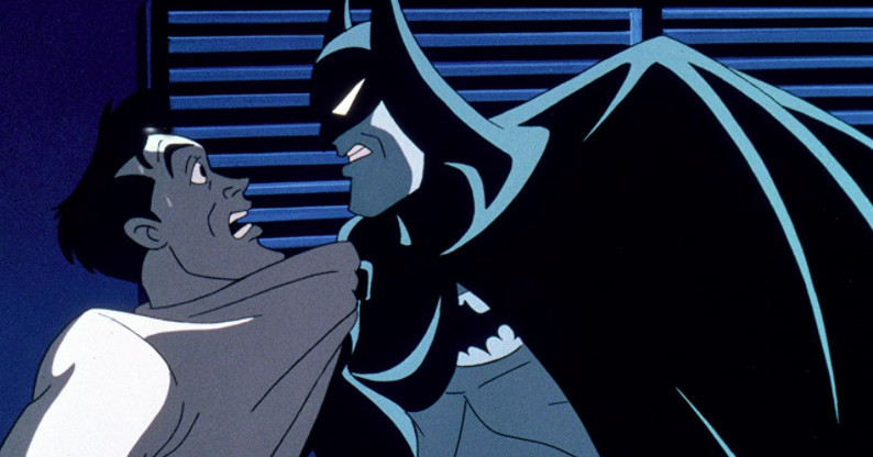 Batman: Mask of the Phantasm is a rare view of Batman as a person