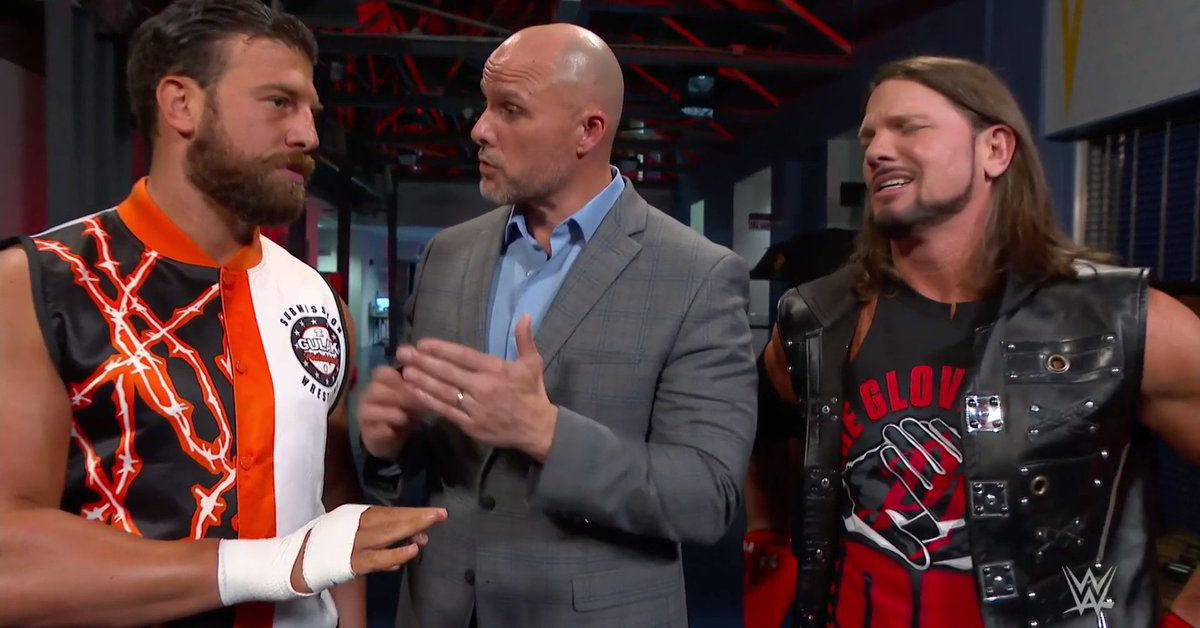 You can't just declare for the Rumble unless your name isn't Drew Gulak
