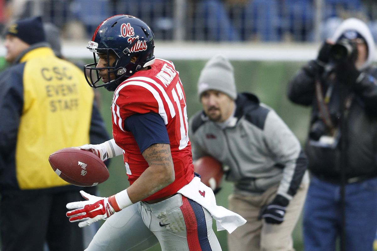 Ole Miss Rebel Wide Receiver Donte Moncrief Declares For