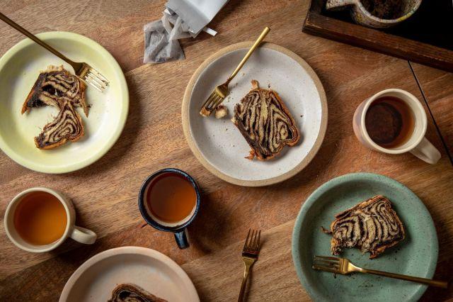 Pie plates by Wynne Noble