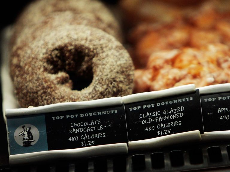 Calories, like those listed on Starbucks menu items, will soon appear in restaurants across the country.