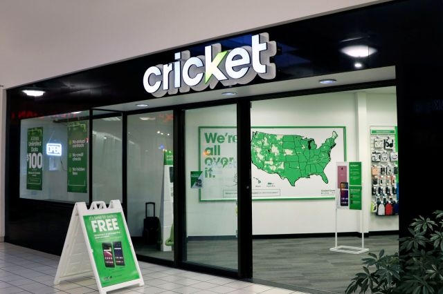 Cricket wireless store entrance