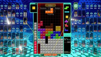 Before Tetris 99 popularized battle royale Tetris, there was