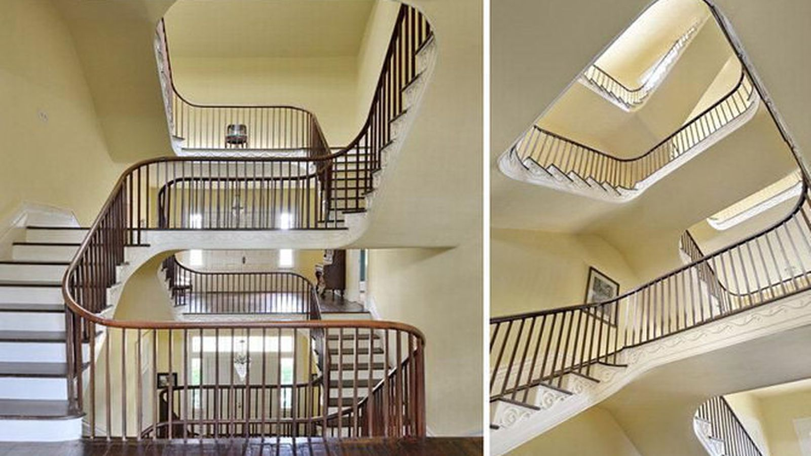 Ever Seen A Double Reverse Spiral Staircase Before Curbed
