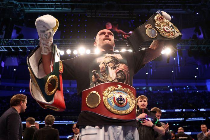Pros react to Oleksandr Usyk's upset of Anthony Joshua - MMA Fighting