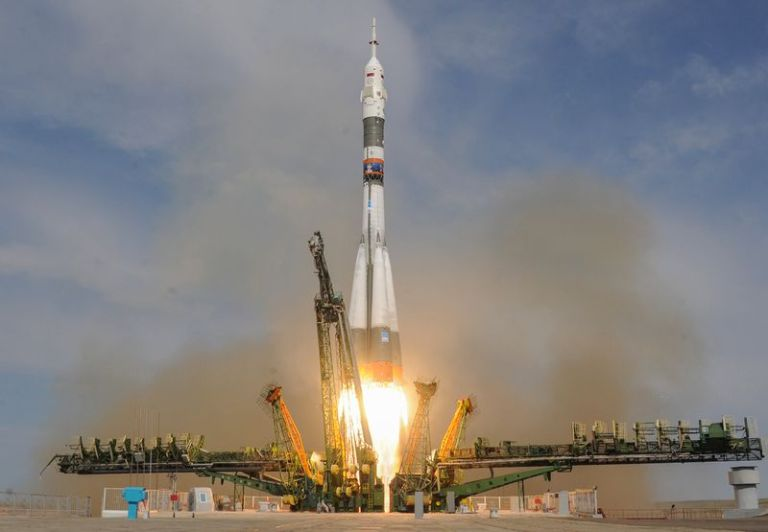 Russia's Soyuz MS-09 spacecraft launches June 8, carrying a Russian cosmonaut and German astronaut to the ISS.