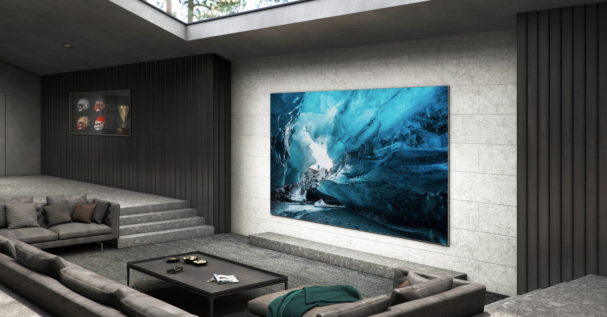 Samsung announces massive 110-inch 4K TV with next-gen MicroLED picture quality