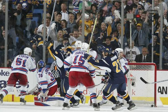Throwback Recap: Buffalo Sabres come in clutch, defeat New York Rangers - Die By The Blade