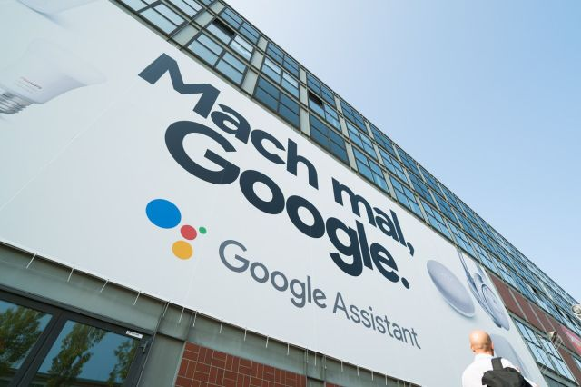 <em>Google's Assistant is everywhere at IFA 2018.</em>