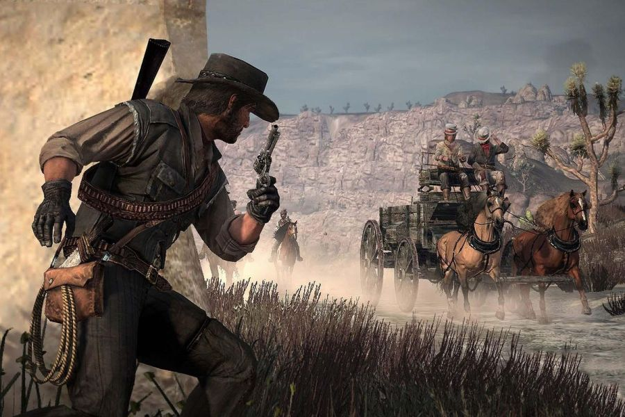 Six more Xbox 360 games get Xbox One X enhanced updates   Polygon Red Dead Redemption Rockstar San Diego Rockstar Games