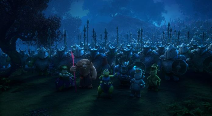 trolls prepare for killiahed in tales of arcadia: wizards