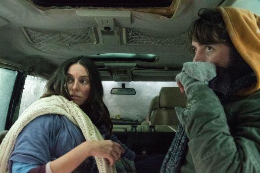 "Vincent Piazza as ""Matt"" and Genesis Rodriguez as ""Naomi"" in Brendan Walsh's CENTIGRADE"
