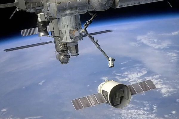 First commercial spacecraft to dock with ISS in February