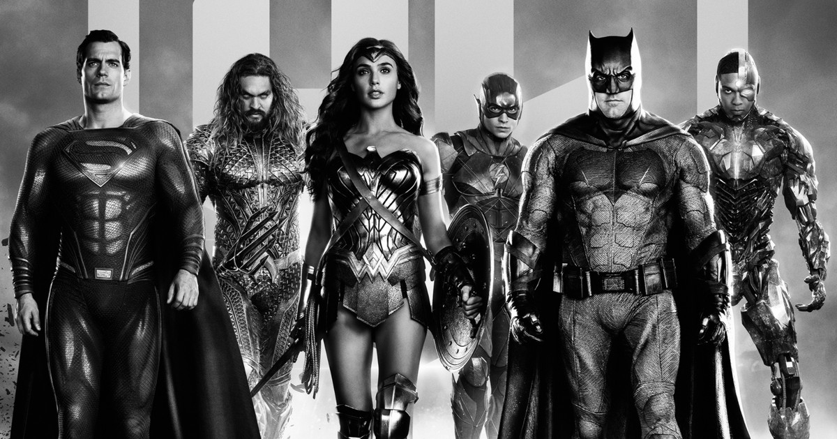 Zack Snyder's Justice League to receive an additional black-and-white release on HBO Max