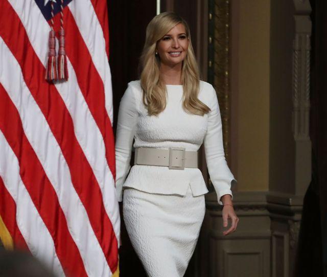 Ivanka Trump Walks Into A Meeting In Washington Dc In October 2018 Mark Wilson Getty Images