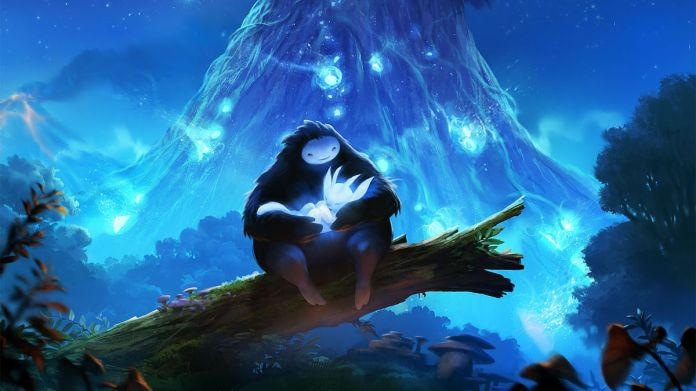 Ori and the Blind Forest art