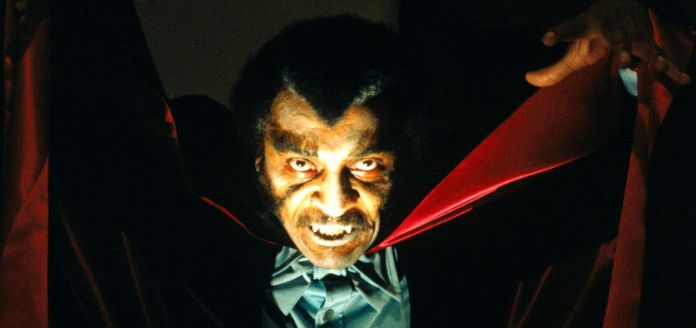Prince Mamuwalde aka Blacula (William Marshall) bares his fangs