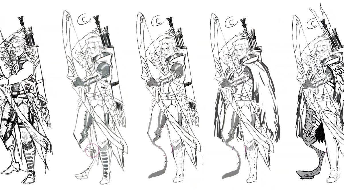 Ponmalar from Dragon Prince