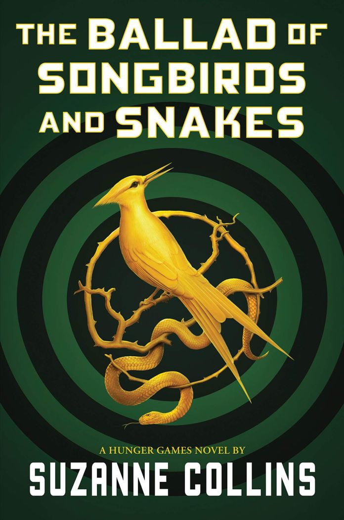 cover for The Ballad of Songbirds and Snakes by Suzanne Collins