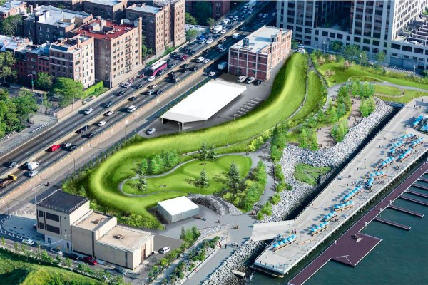 Brooklyn Bridge Park's Pier 5 uplands revealed in new ...