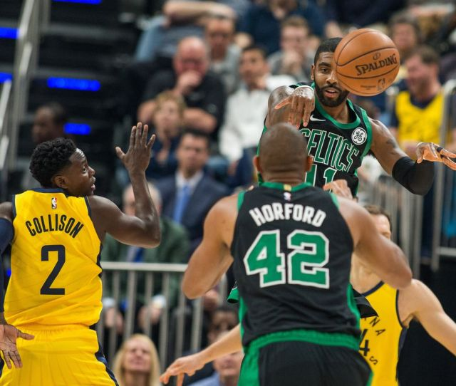 Bostons Most Lethal Offensive Weapon The Al Horford Kyrie Irving Pick And Pop Celticsblog