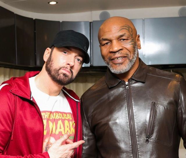 Eminem To Appear On The Hotboxin With Mike Tyson Podcast Revolt