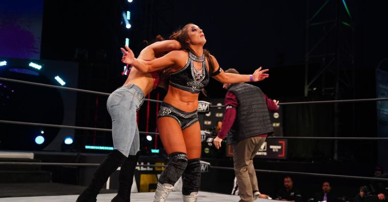 The best women's feud in AEW history has been sidelined by COVID